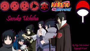 My New Sasuke Uchiha Wallpaper by AlucardNoLife