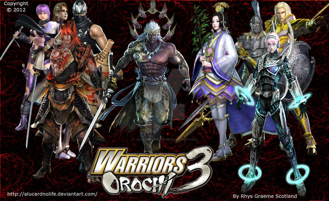 My Warriors Orochi 3 Background Wallpaper. by ...