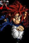 Super Saiyan 4 Gogeta Render  From DragonBall GT