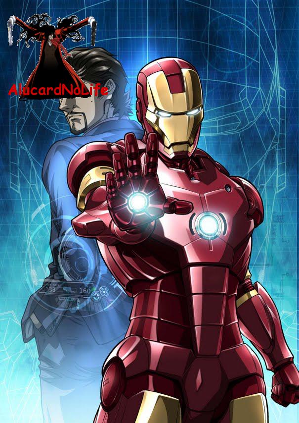 Marvel Ironman Anime Render
