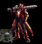 Dante Son Of Sparda Devil Trigger Render