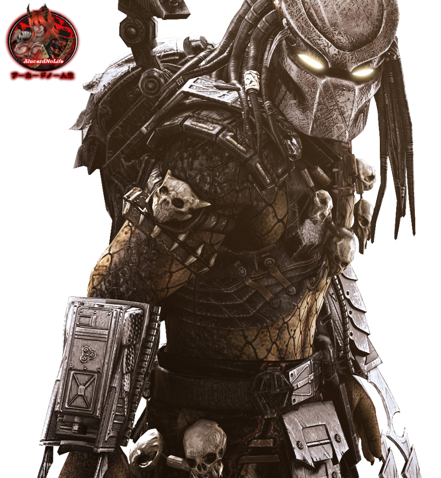 (Yautja) Predator Render by AlucardNoLife on DeviantArt