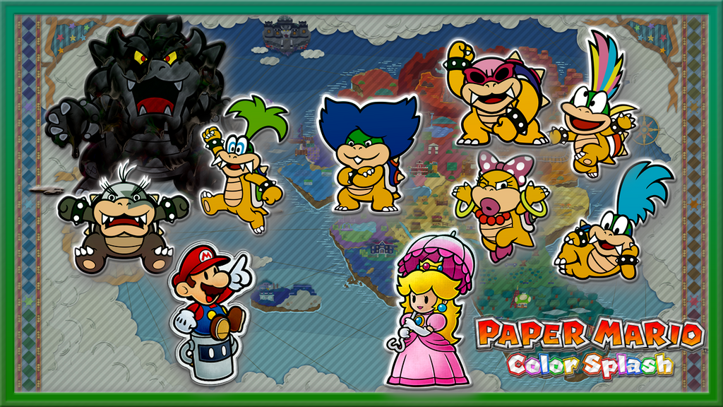 Paper Mario Color Splash Wallpaper 7 Doubts You Should Marianowo Org