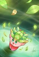 Magic Leaves   +   Free Lineart by amaitsuno