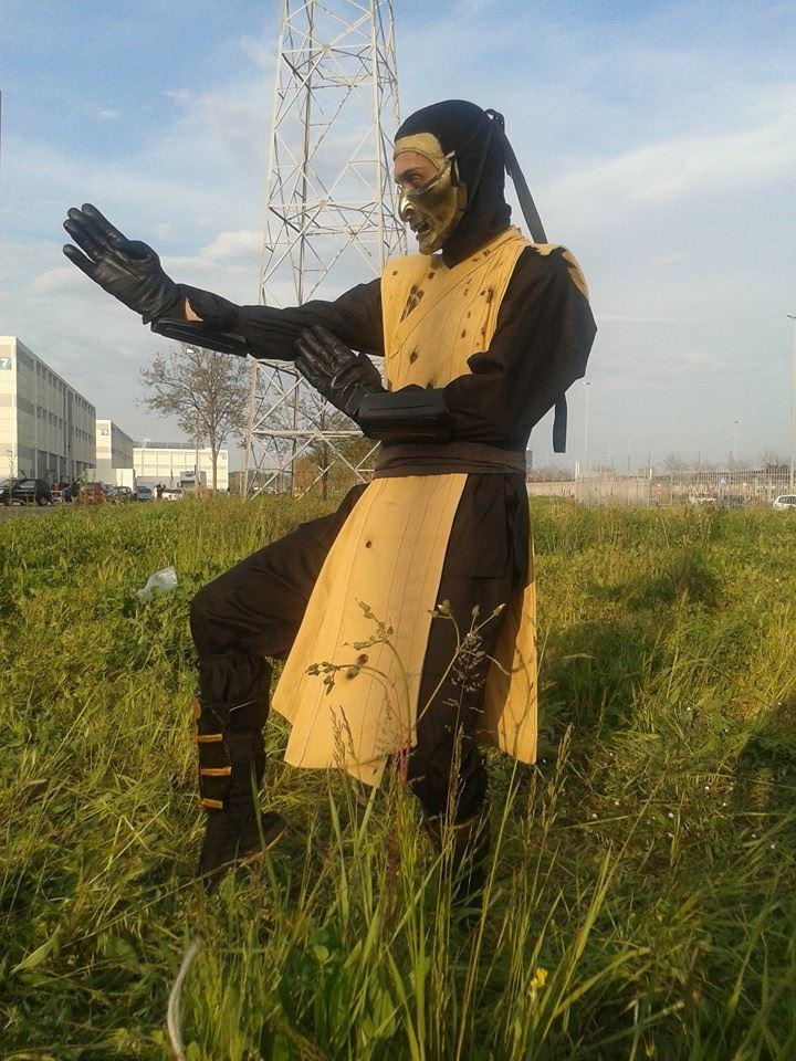 scorpion mortal kombat legacy ii cosplay by