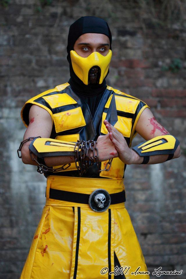Mortal Kombat 2 Cosplay:u00a0Scorpion & Mileena,#Kombat#