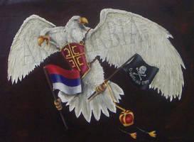 Serbian Eagle by jezviking