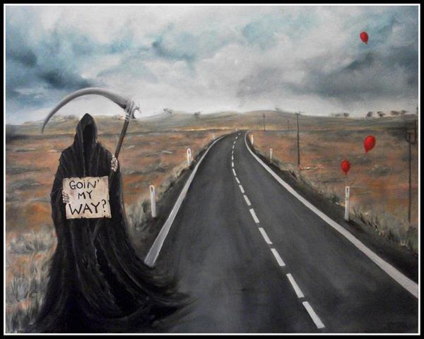 Goin' my way? by jezviking