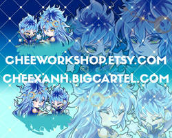 Twisted Wonderland Idia n Ortho Keychain Event by TreXanh