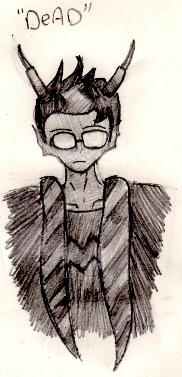 Dead Series : Eridan by Charismic-Lament