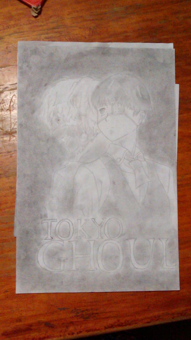 Tokyo Ghoul: Kaneki by MikuuUe