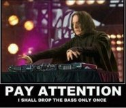 DJ Snape Drops the Bass by StarlaCNewkirk