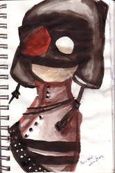 Grapefruit Army: Agent Hat by kihru