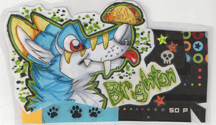 Brighton Badge by Syberwolf