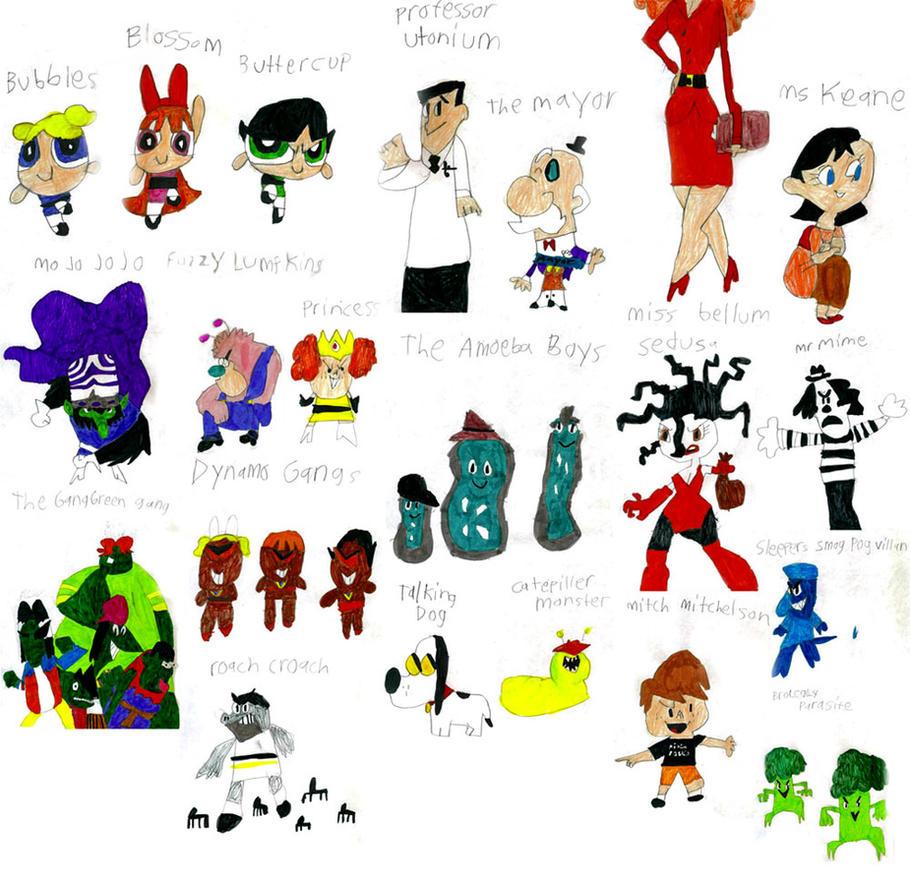 Powerpuff girls - characters mp4 photos 69