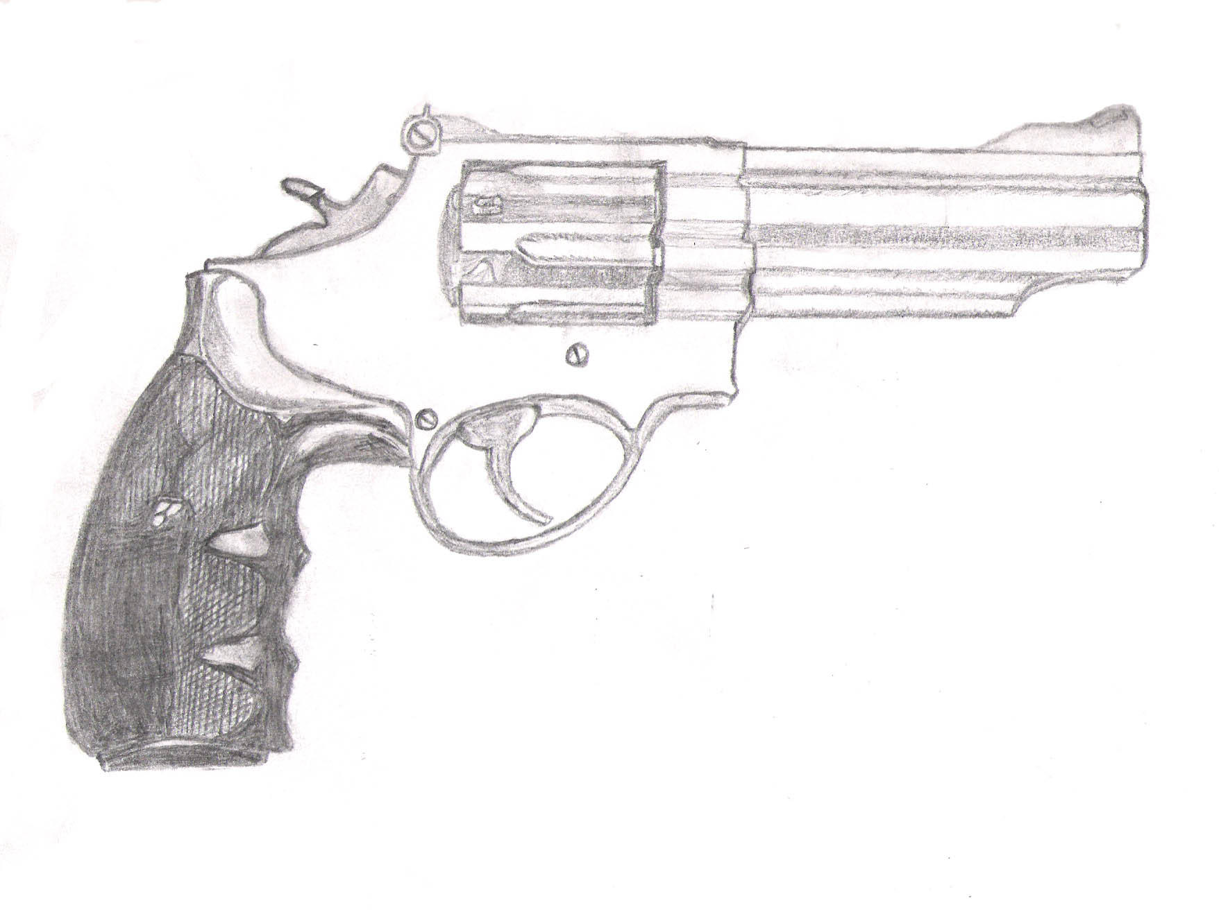 .357 mag. Pencil for a change by canibal-in-a-can on ...