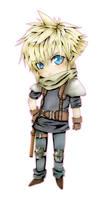 Chibi Cloud:Infantry soldier by Ciciheartbreaker000
