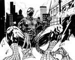 Spectacular Spider-Man - inks