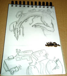 The Wait - sketchpad page