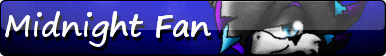 Midnight Fan Button by Massi-the-Fox