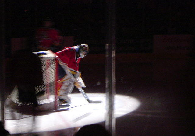 luongo before the game started by alyssadee4