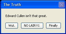 Edward Cullen by canadianpeanutbuter