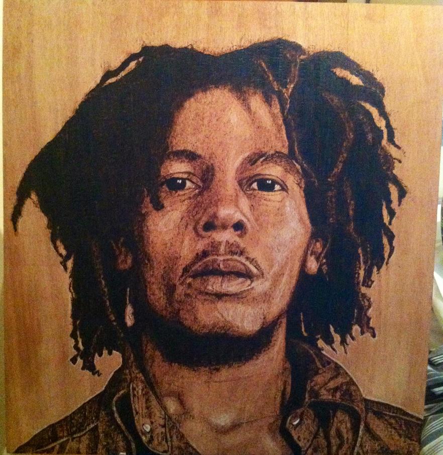 Bob Marley burn by LUKAS-87