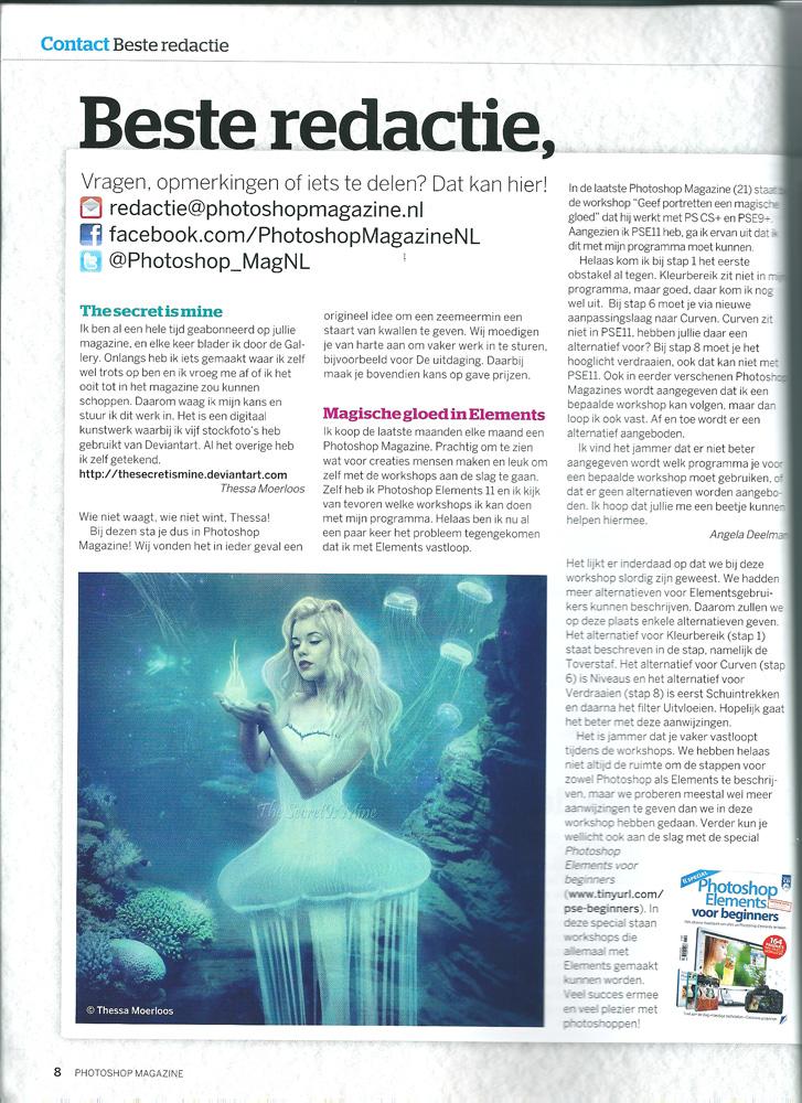 Photoshopmagazine by TheSecretIsMine