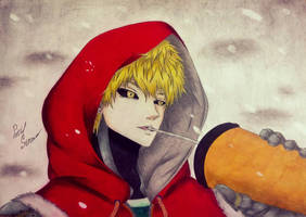 One Panch Man | Genos by PatiStron