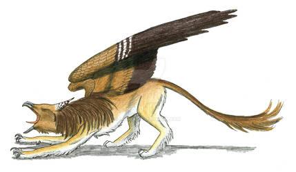 Hyperborean Griffin by Larua