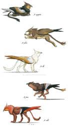Genus: Noble Griffins by Larua