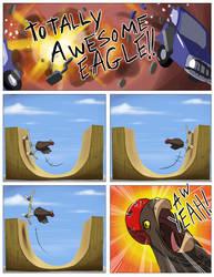 Awesome Eagle by tysonhesse