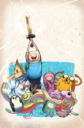 Adventure Time #10 Cover
