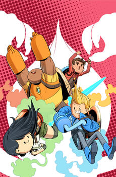 Bravest Warriors Trade Paperback Cover