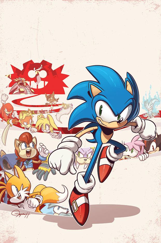 Sonic The Hedgehog 258 By Tysonhesse On Deviantart