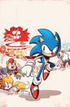 Sonic the Hedgehog #258