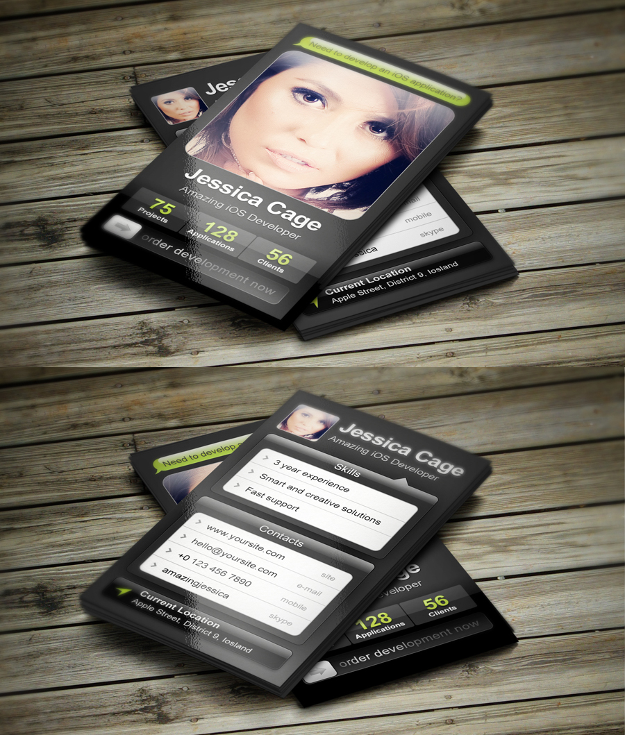 Ios developer business card by iamvinyljunkie on deviantart ios developer business card by iamvinyljunkie ios developer business card by iamvinyljunkie reheart Gallery