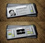 aLive - Ableton Live DJ Business Card