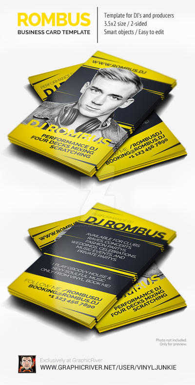 Rombus dj business card psd template by iamvinyljunkie on deviantart rombus dj business card psd template by iamvinyljunkie reheart Choice Image