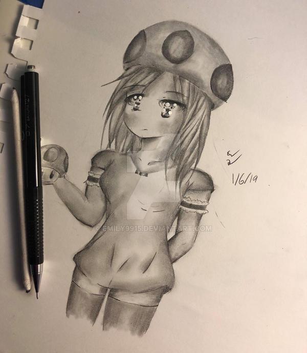 lil Mushroom Girl by Emily9915