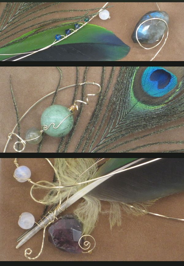 Water Pheonix Detail1of2 by Jayetta