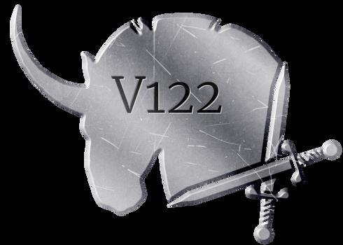 V122 Plaque