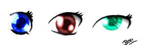 Anime-Manga style eyes?? o.o by xnobnobx