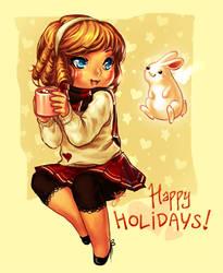 orig + happy holidays