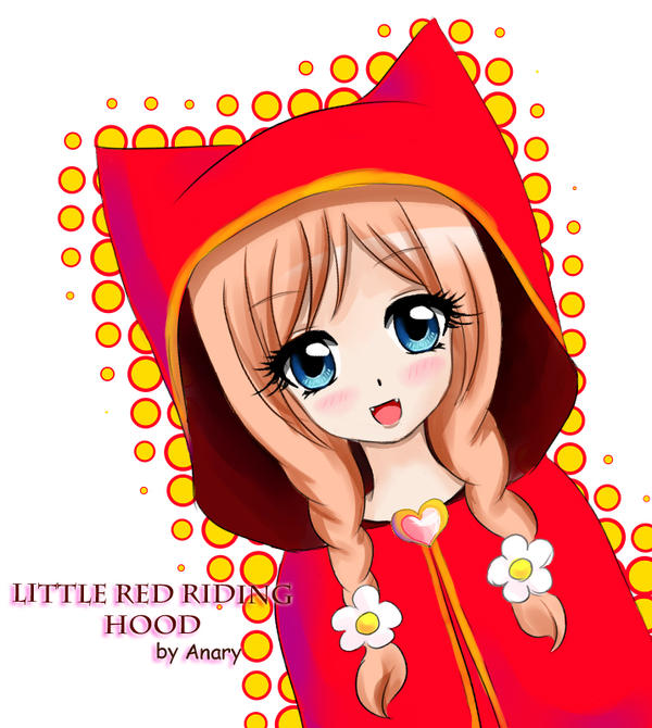 little red riding hood by anary on deviantart
