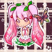 Sakura Miku by Anary