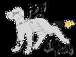 PRICE LOWERED P2U Dog Base / Lineart (60+ Options)
