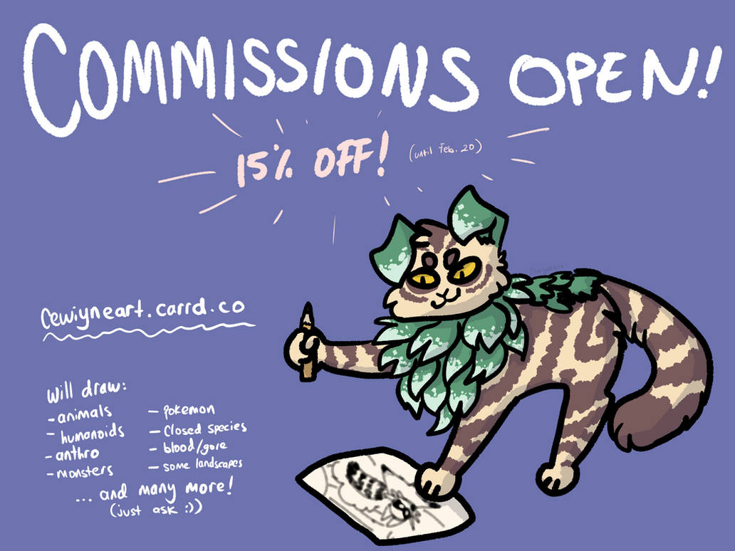 art commissions! [open]
