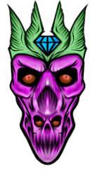 Double Skull 9 by InsainArt