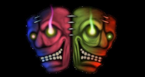 2 Faces by InsainArt